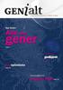 Forsiden av GENialt nr. 5/2012