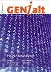Forsiden GENialt 1/2010