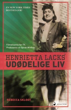 Bokomslag - Henrietta Lacks' udødelige liv