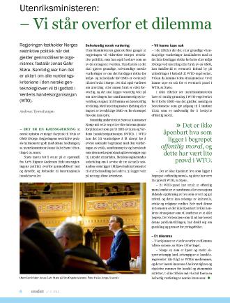 Faksimile av artikkelen i GENialt 2/2012