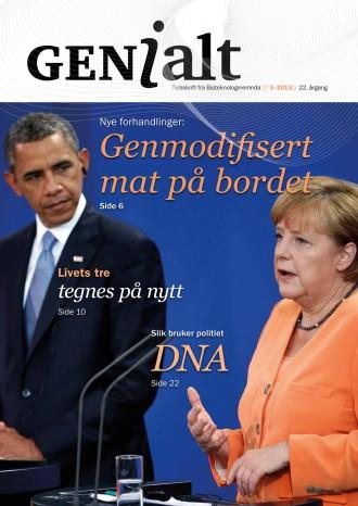 Forsiden på GENialt nr 3-2013