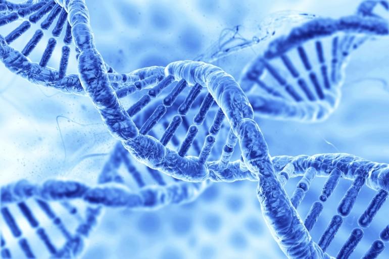 Bilde av DNA-helikser