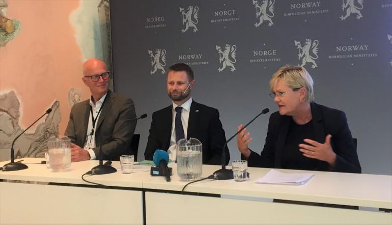 Bjørn Guldvog, Bent Høie og Kristin Halvorsen