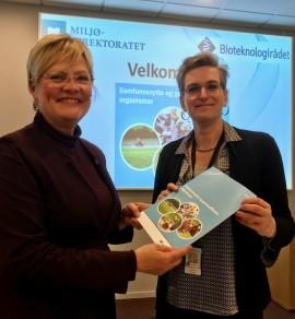 Kristin Halvorsen og Ellen Hambro