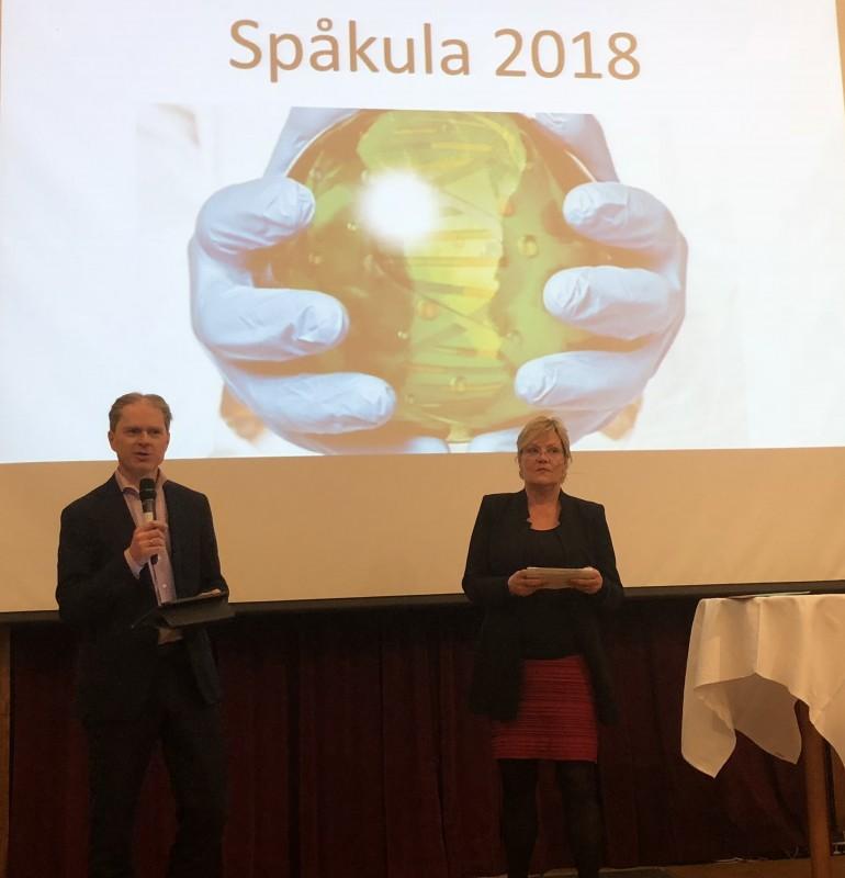Kristin Halvorsen og Ole Johan Borge