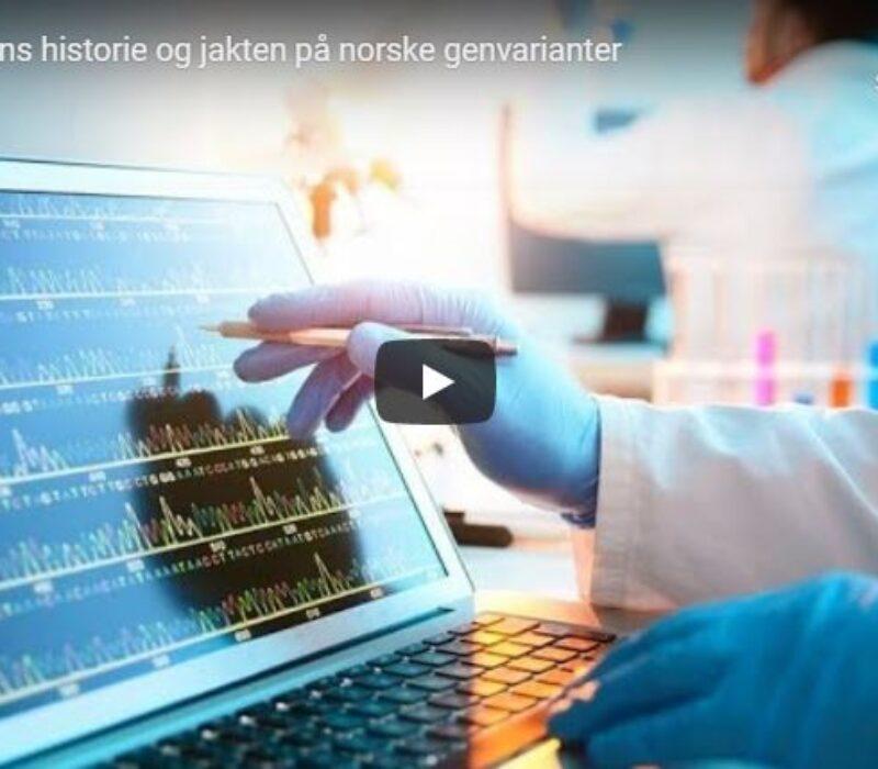 Se video: Genetikkforedrag med Knut Erik Berge