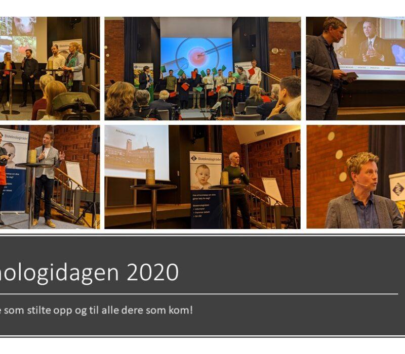 Gikk du glipp av Bioteknologidagen 2020? Her er bilder og videoklipp