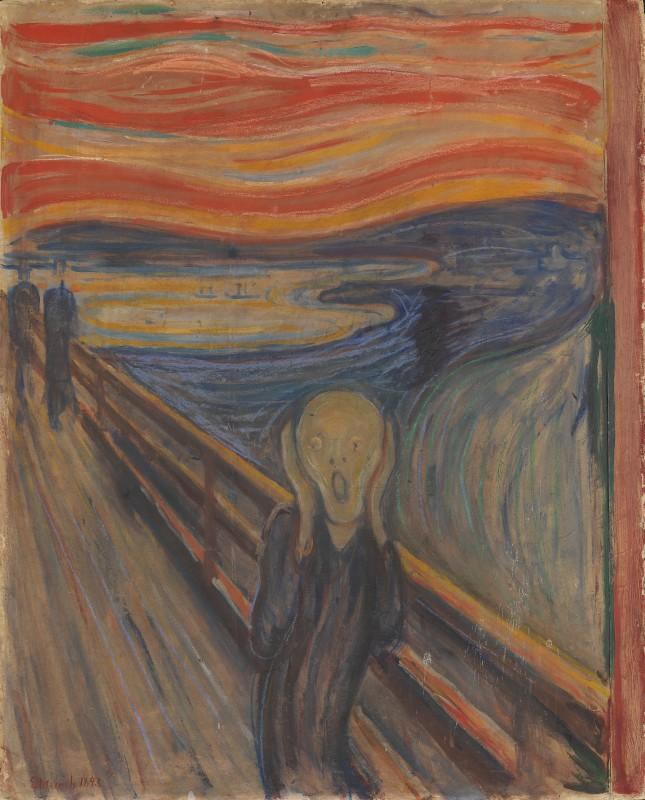 Edvard Munchs maleri Skrik