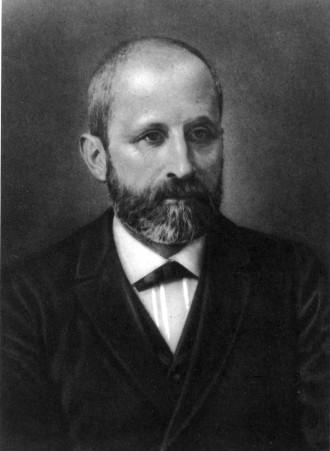 Portrett av Friedrich Miescher
