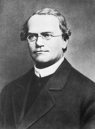 Portrett av Gregor Mendel