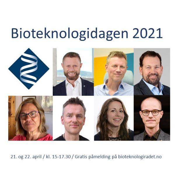 To dager – fire byer. Bioteknologidagen 21. og 22. april 2021